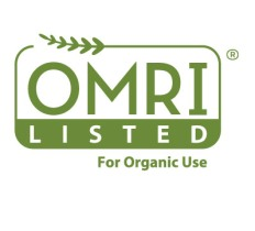 OMRI listed seal for organic use